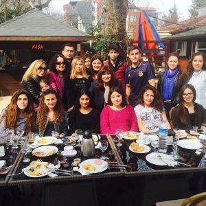 Kahvaltıda öğrencilerimizle Buluştuk