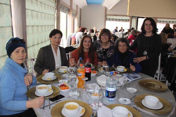 Gönüllülerimizle Yemekte Buluştuk